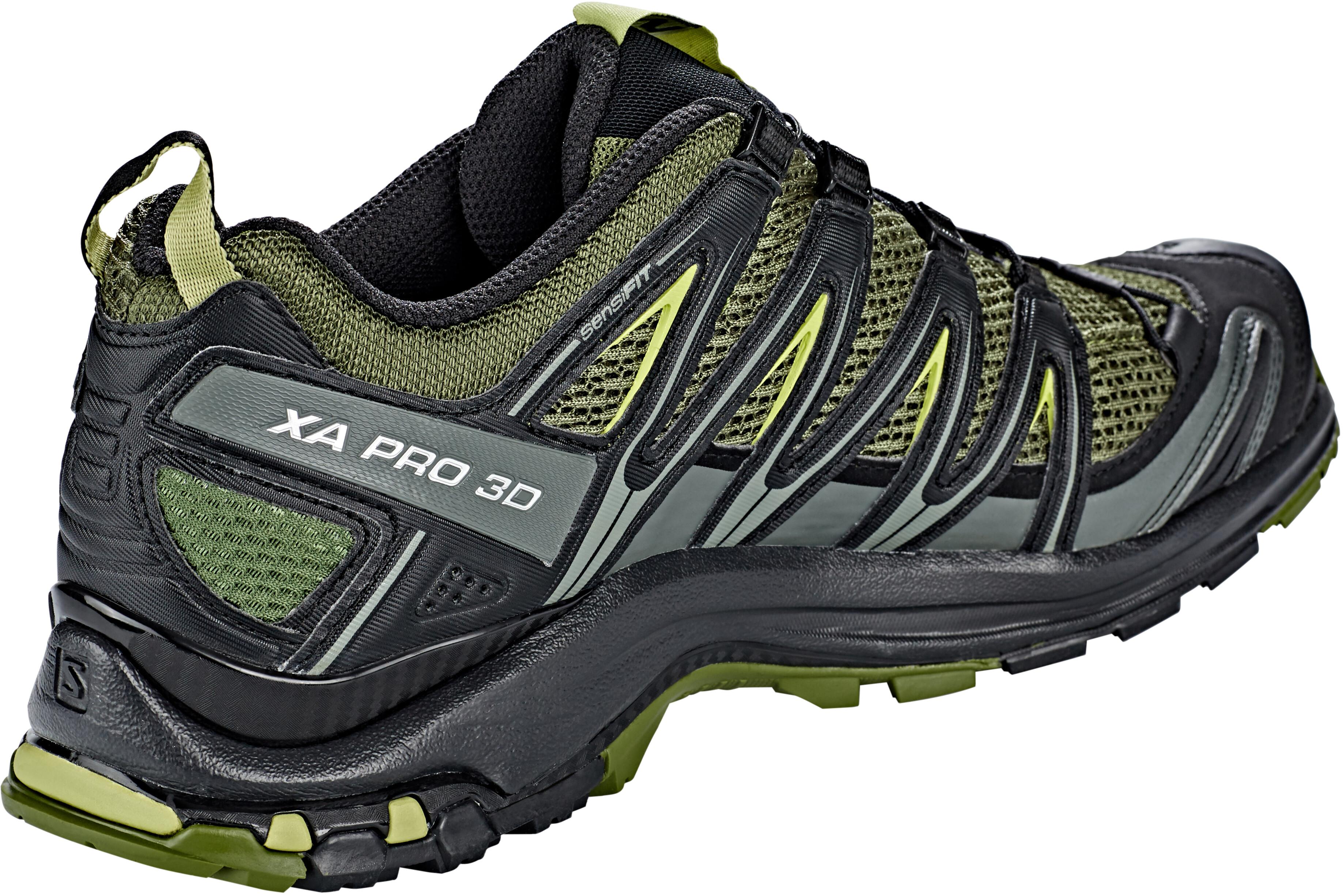 bas prix 5249b 996e3 Salomon XA Pro 3D Shoes Men chive/black/beluga